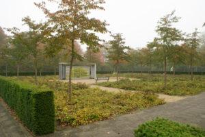Landschapsarchitectuur: begraafplaats