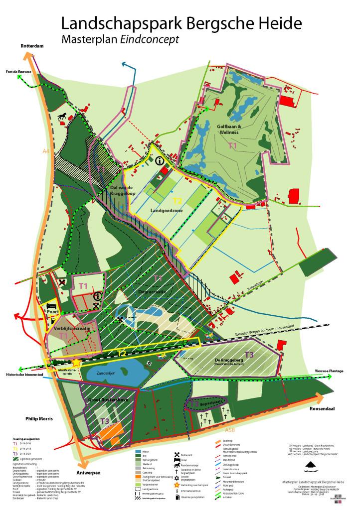 2014-06-19 Masterplan Bergsche Heide Eindconcept fasering 2