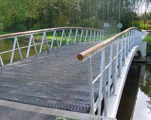 Vormgeving bruggen watergang, Bleiswijk