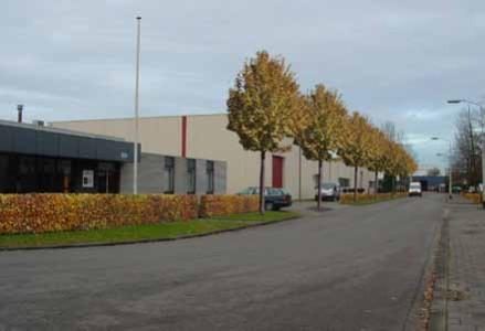 Bedrijventerreinen  Franse Akker/Rudonk en Spinola, Breda