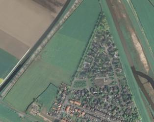luchtfoto grijze wijk