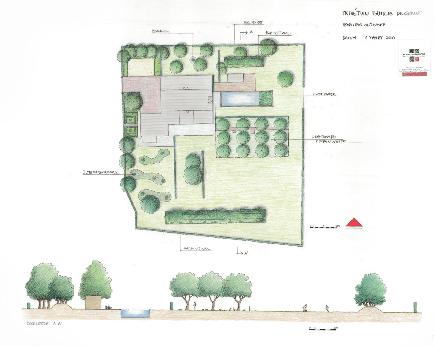 Privé tuin buitengebied, Breda