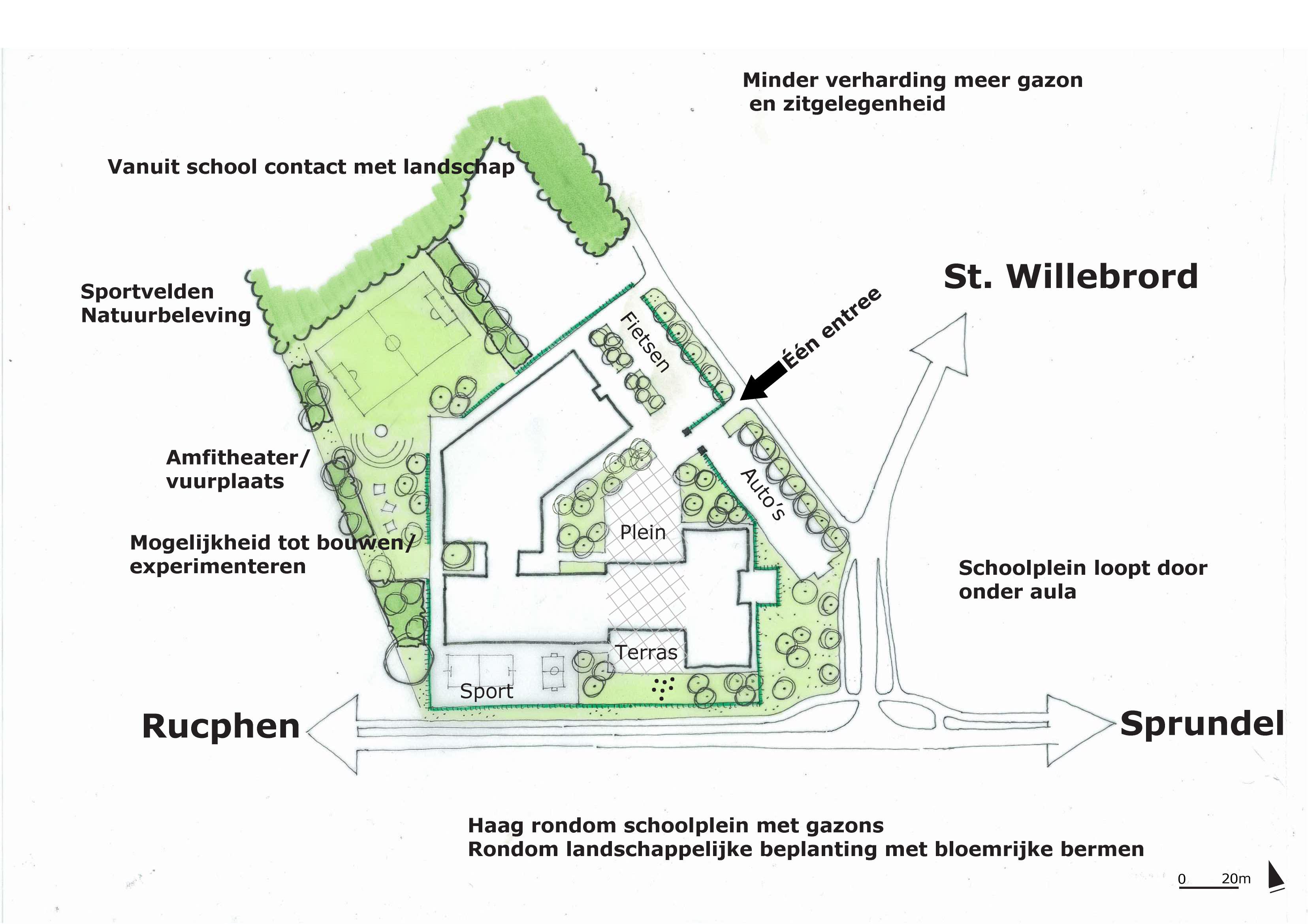 Schoolplein Munnickenheide, Rucphen