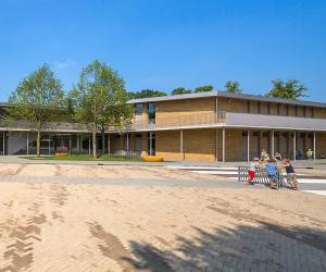 Schoolplein Brede School, Moergestel