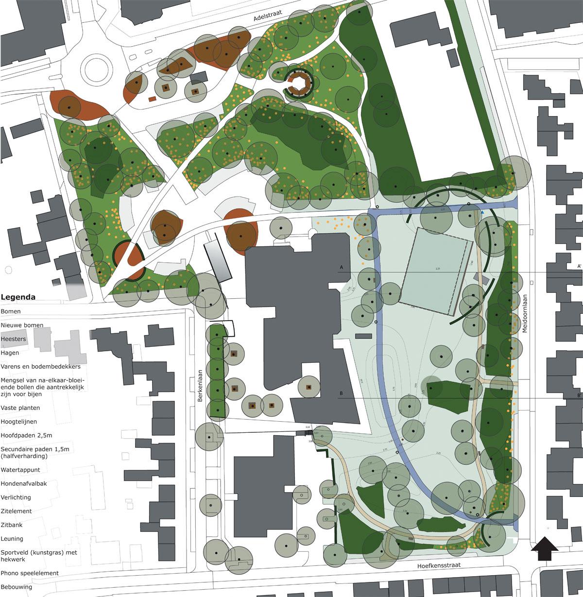 voorlopig ontwerp gemeentepark Made