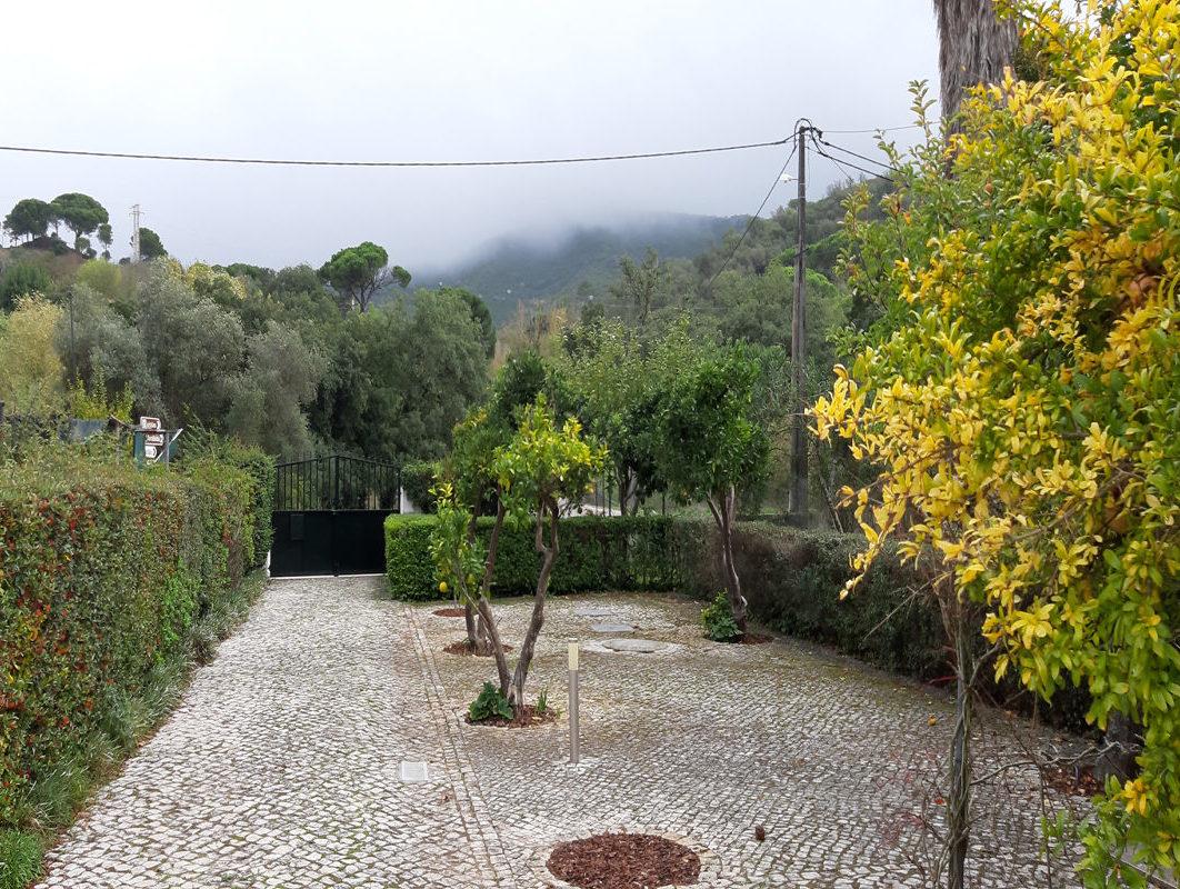 Mediterrane tuin Azeito Portugal